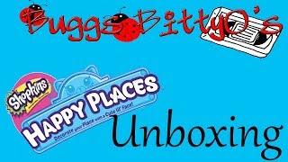 Unboxing Shopkins Happy Places Surprise Packs!