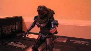 Halo Reach: Anime Parody (stop motion)
