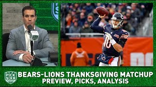Bears-LIons Thanksgiving Preview, Picks, Analysis I Pick Six Podcast