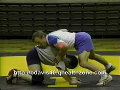 Barry Davis Wrestling Spinning Drills Image 1