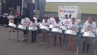 Toronto all star steel pan performance for Canada day.