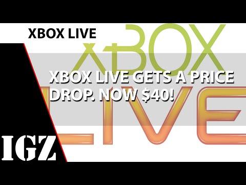 Xbox Live gets 20 cheaper