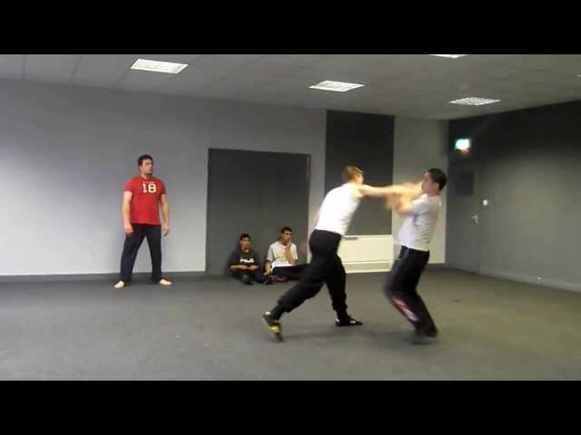 JEET KUNE DO & URBAN COMBAT TRAINING WITH SENIOR STUDENTS