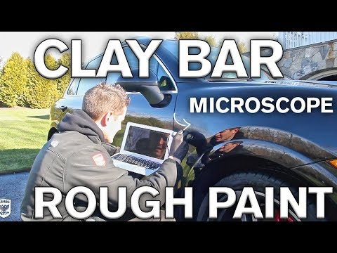 Best Tricks for Clay Bar on Rough Paint.