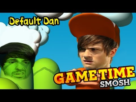 MARIO'S BACKWARDS BROTHER DEFAULT DAN (Gametime w/Smosh)