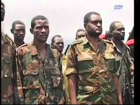South Sudan - Spla Captured Prisoners Of War In Panthou video