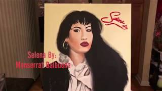 Selena Quintanilla Portrait painting! 💋🥀