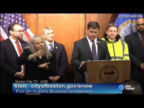 Boston mayor: 'We're taking this storm very seriously'
