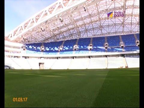Инспекционная комиссия FIFA посетила стадион «Фишт»