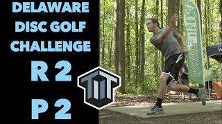 2018 Delaware Disc Golf Challenge R2B9 | Barsby, Conrad, Johansen, Heimburg | 4k