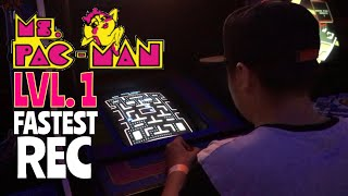 Beating Ms. Pac-Man (Level 1 - Hard) in 30 Seconds | Full Video // Re-Upload