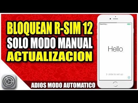 Apple bloquea RSIM 12 | Adios rsim automaticas | Diciembre 2017