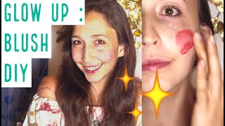 Mission Glow UP : BLUSH NATUREL MAISON (DIY)