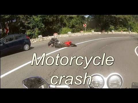 (Motor)Bike Motorcycle accident live