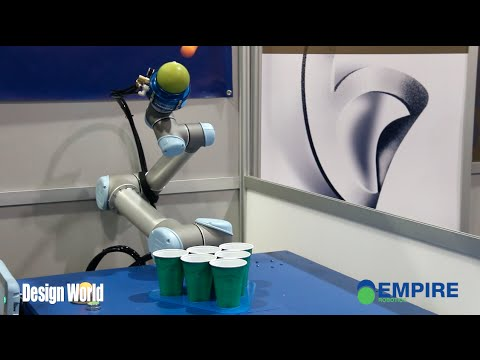 Getting a grip on the beer pong robot - CES 2015