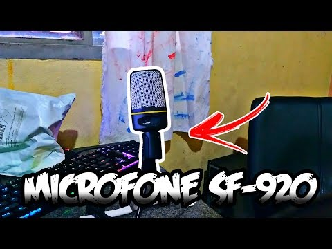 🔴 MICROFONE CONDENSADOR POR 50 REAIS!