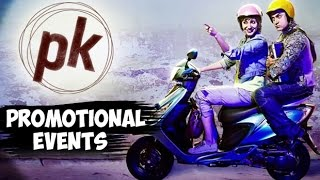 PK Movie | Aamir Khan, Anushka Sharma, Sushant Singh Rajput, Boman Irani| Uncut Promotional Events