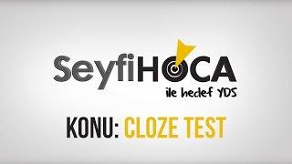 YDS Dersi (6) Cloze Test