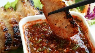 My ❤ Thai Recipes: BBQ Pork Neck