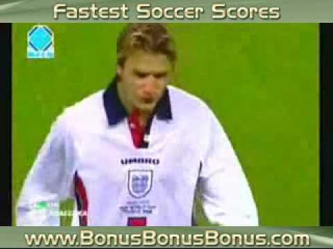 World Cup 1998 Argentina - England Beckham sent off