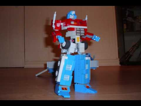 OPTIMUS PRIME (Ver 4). a Lego Transformers Creation