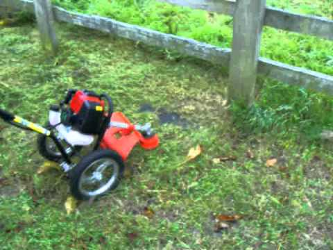 Petrol-wheeled-brush cutter