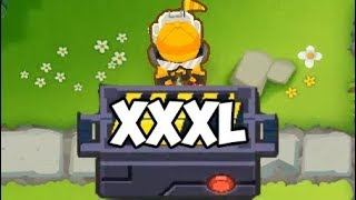 XXXL TRAP - THIS THING IS RIDICULOUS! - Bloons TD 6 - 5th tier engineer