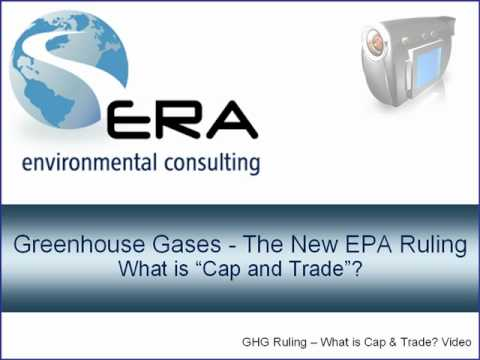 Greenhouse Gases -  What is Cap and Trade?