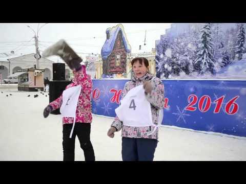 Праздник русского валенка «Забег по-русски»   Кострома 2015