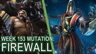 Starcraft II: Co-Op Mutation #153 Firewall [1-Base Swann]