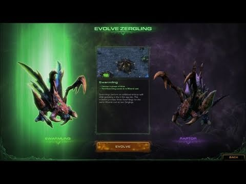 Starcraft II Heart Of The Swarm Gameplay Preview