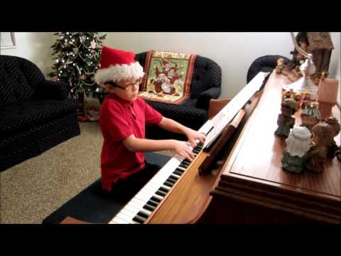 Caleb Plays Joy to the World Mixed with Haydn