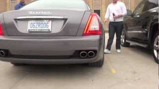 2012 Maserati quattroporte chrysler 300s and jeep exhaust