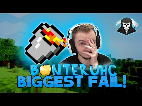 THE BIGGEST FAIL EVER + RANK GIVEAWAY! ( Banter UHC )