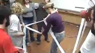 Rescue Litter -- Duct Tape Teambuilding Game