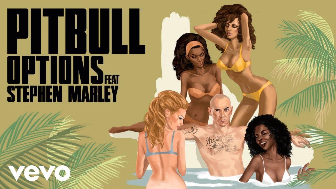 Pitbull - Options (DJ Noodles Remix) [Audio] ft. Stephen Marley