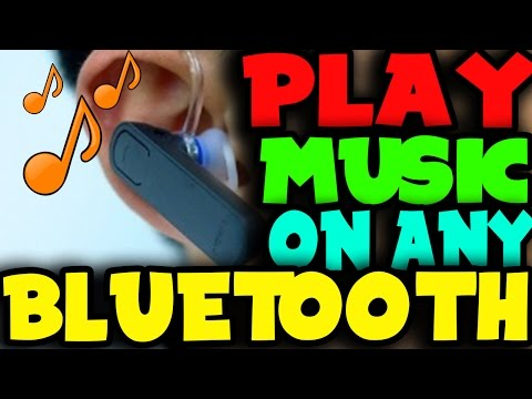 Play Music Through Any Bluetooth Headset | Android | Latest 2017