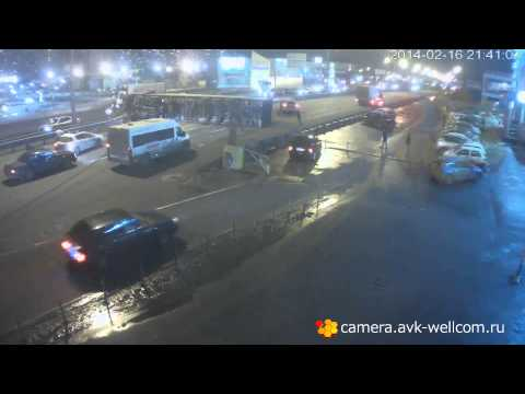ДТП на Новорязанском шоссе, 16.02.2014