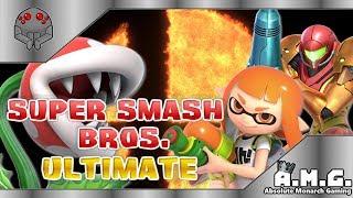 Saturday Super Smash Bros Ultimate Gameplay Live | AMG with Tyrantula