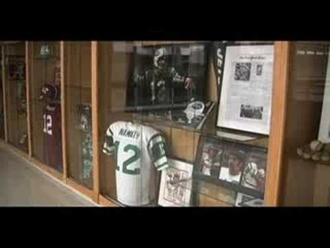 Joe Namath Documentary Video