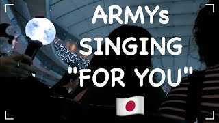 181113 BTS LOVE YOURSELF IN TOKYO FANCAMS (terrible quality lol)