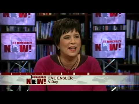 "Eve Ensler on ""State of Female America,"" Play ""Emotional Creature"" & Women Violence in Congo"