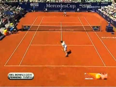Atp Stuttgart 250: Juan Carlos Ferrero vs  Federico Delbonis
