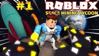 Roblox   ĐI MINE Ở HÀNH TINH LẠ TÌM MỎ VÀNG BÍ MẬT - Space Mining Tycoon #1   KiA Phạm