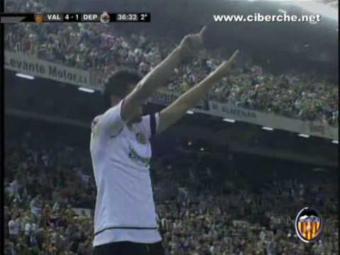 David Villa 08-09