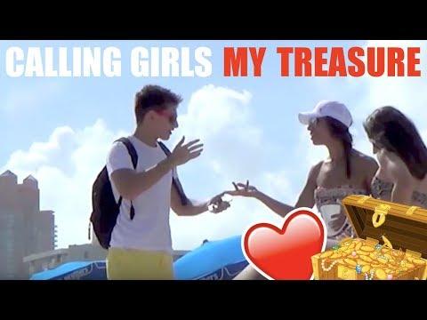 She's A Famous Lesbian Kissing Prank?! - Public Pranks video
