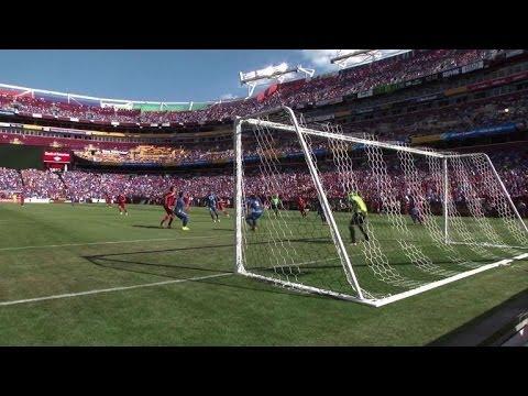 Villa's brace lifts Spain over El Salvador