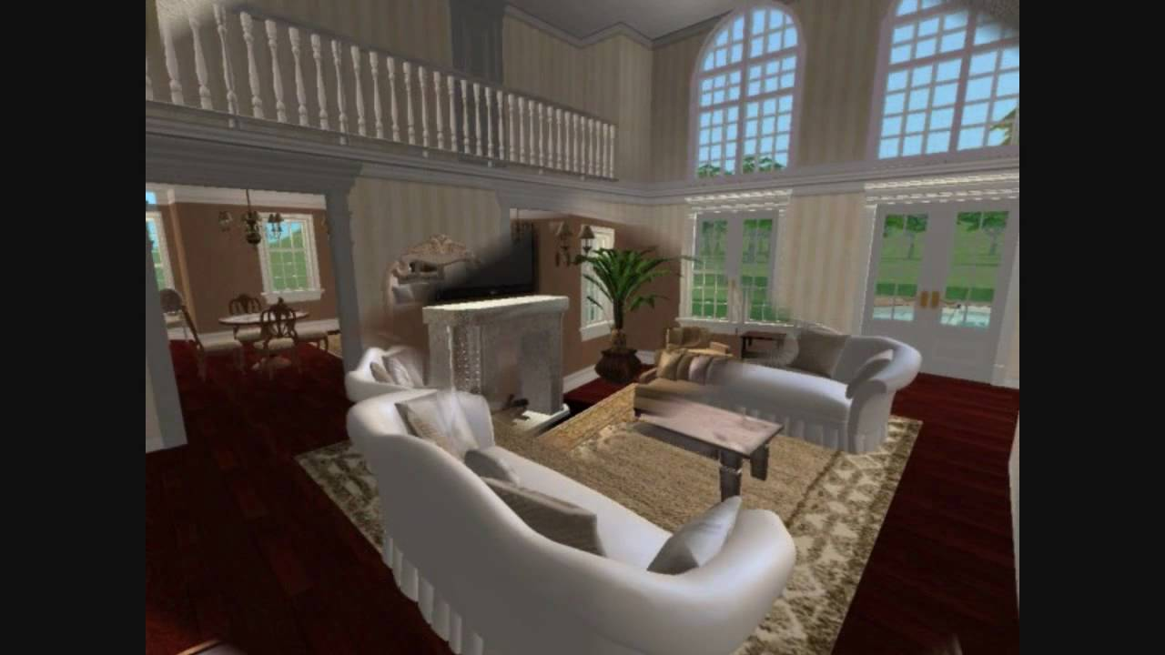 Sims 2 Luxury Home Building Process Youtube