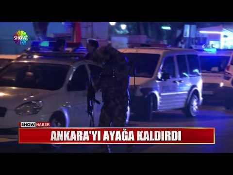 Ankara'yı ayağa kaldırdı