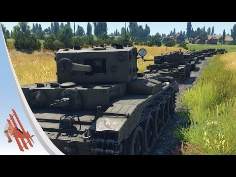 War Thunder Film - The Key to British Tanks!